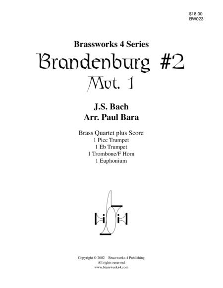 Brandenburg No. 2, Mvt 1