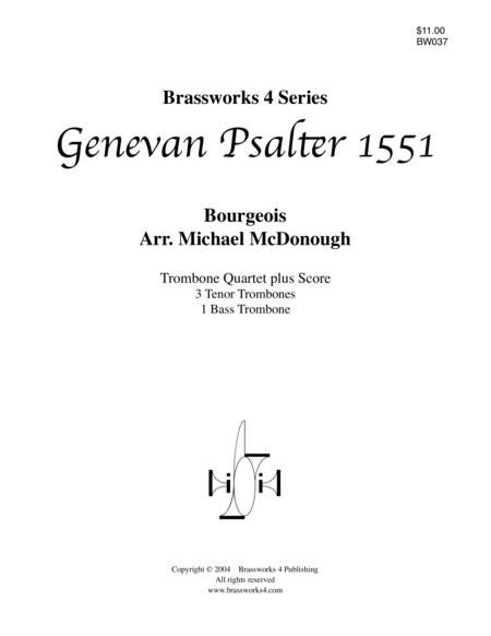 Genevan Psalter 1551