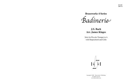 Badinerie in b minor
