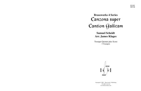 Canzon super Cantion Gallicam