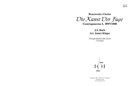 Die Kunst Der Fuge, Contrapunctus I, BWV1080