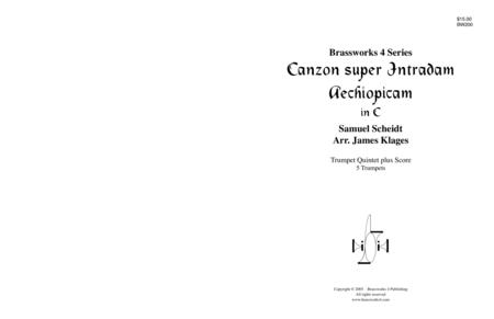 Canzon super Intradum Aechiopicam (C)