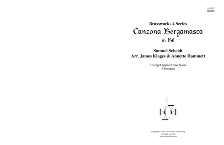 Canzona Bergamasca (Bb)