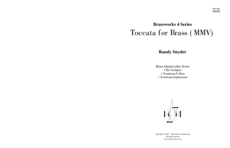 Toccata for Brass (MMV)