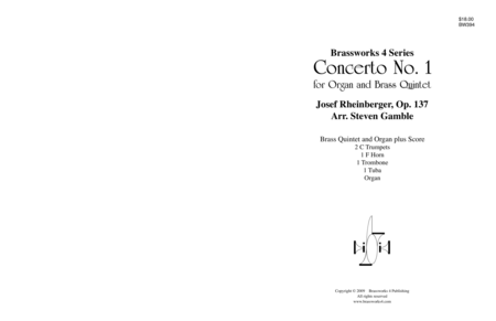 Concerto No. 1 for Organ and Brass Quintet