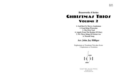 Christmas Trios, Vol. 2