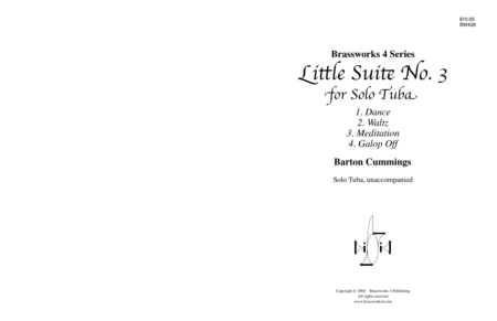 Little Suite No. 3 for Solo Tuba