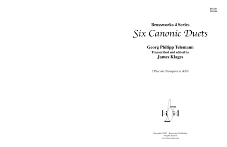 6 Canonic Duets