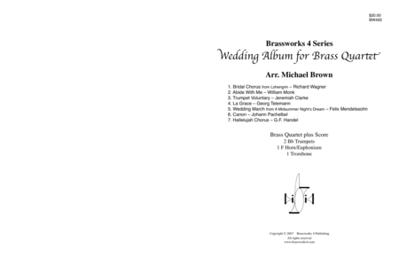 Wedding Album for Brass Quartet