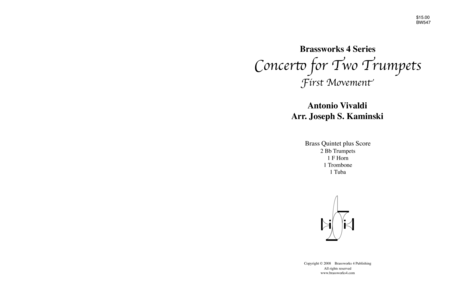 Concerto for Two Trumpets, Mvt 1