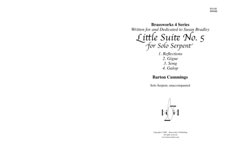 Little Suite No. 5 for Solo Serpent