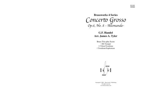 Concerto Grosso, Op. 6, No. 8 - Allemande