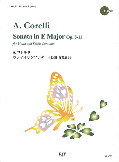 Sonata in E Major Op. 5-11
