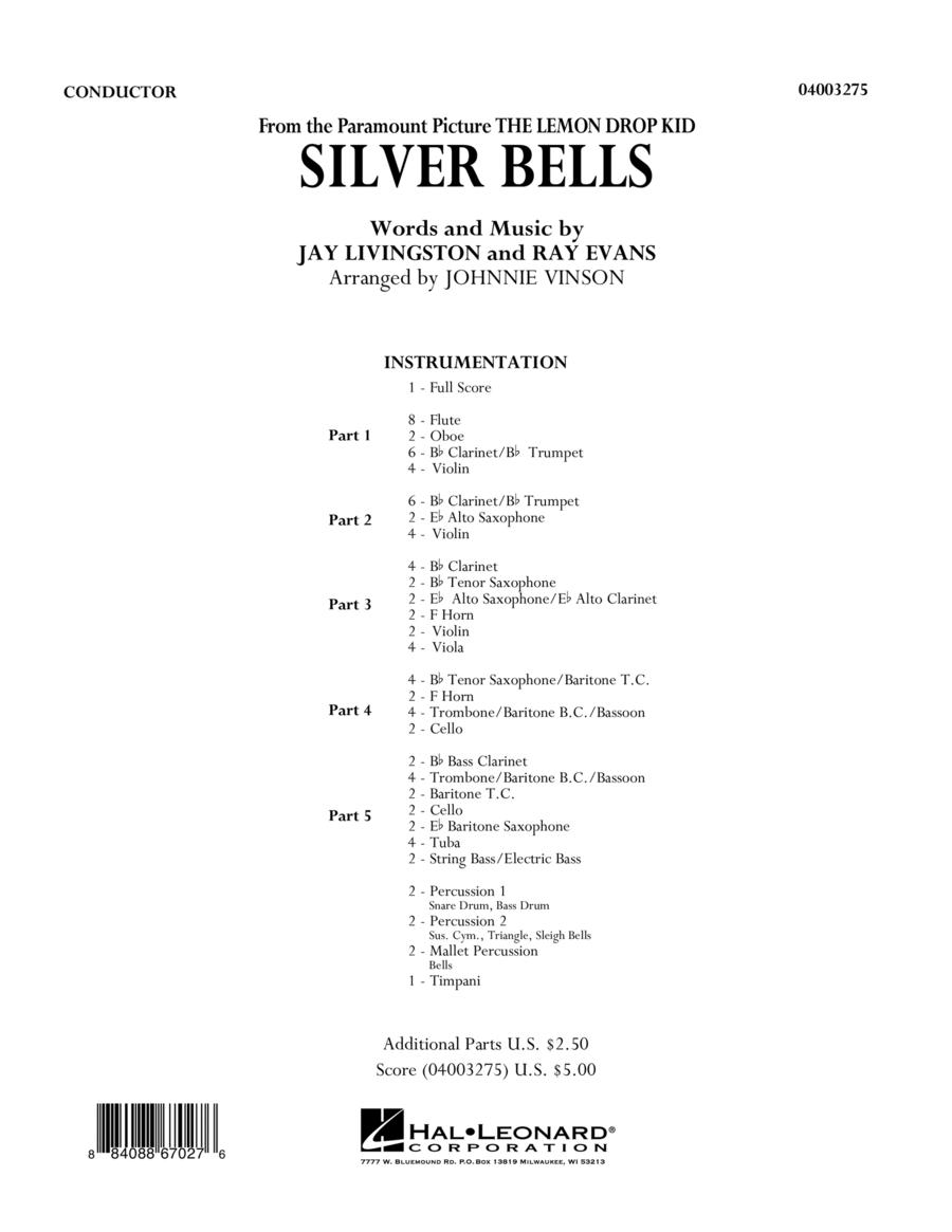Silver Bells - Full Score
