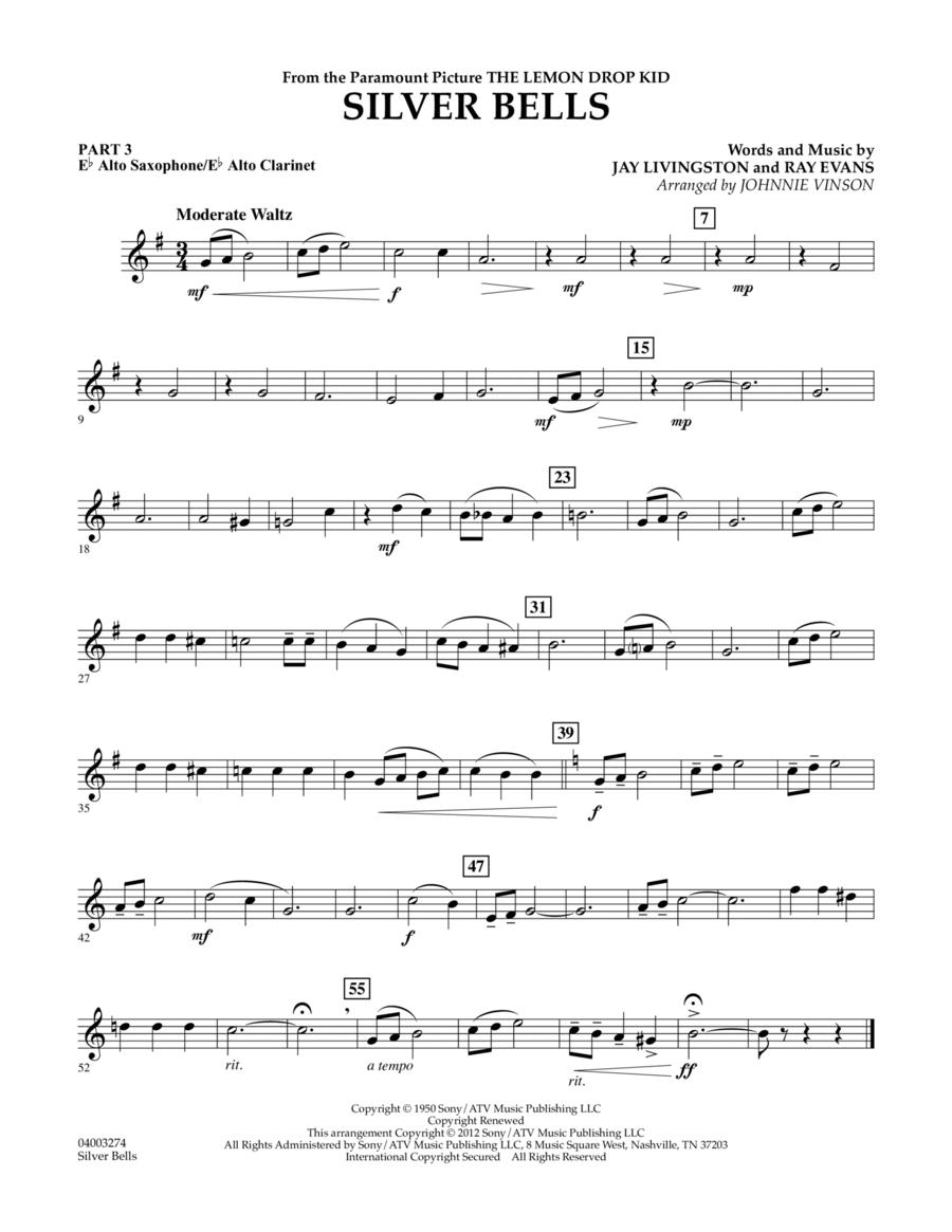 Silver Bells - Pt.3 - Eb Alto Sax/Alto Clar.