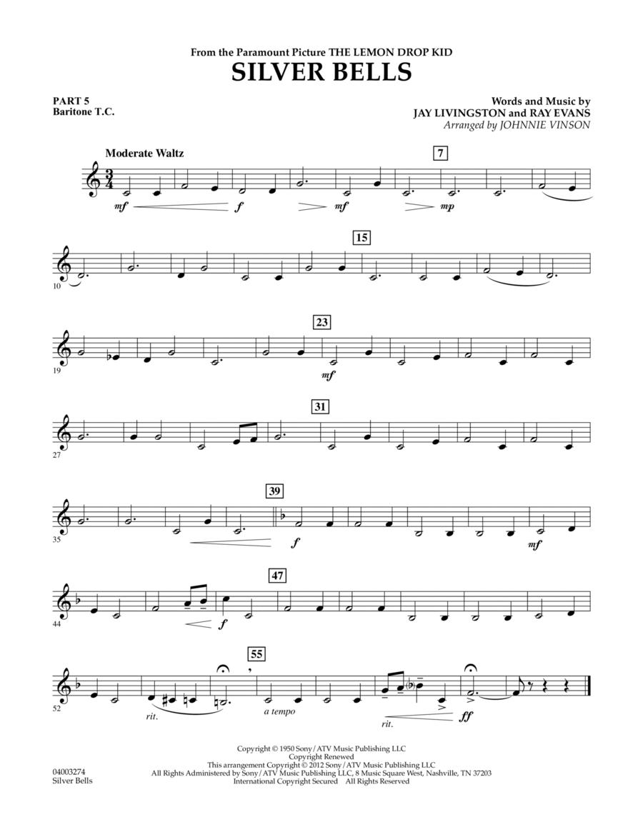 Silver Bells - Pt.5 - Baritone T.C.
