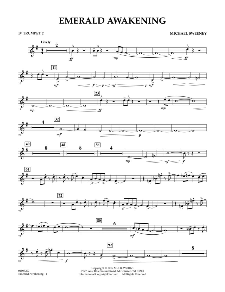 Emerald Awakening - Bb Trumpet 2