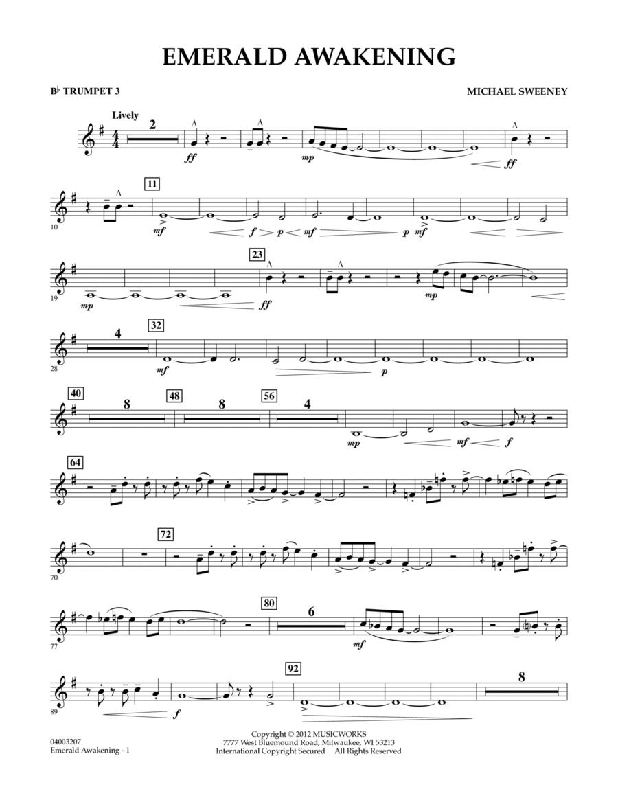 Emerald Awakening - Bb Trumpet 3