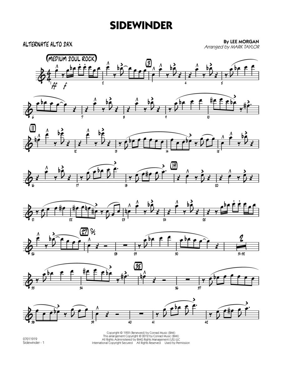 Sidewinder - Alternate Alto Sax