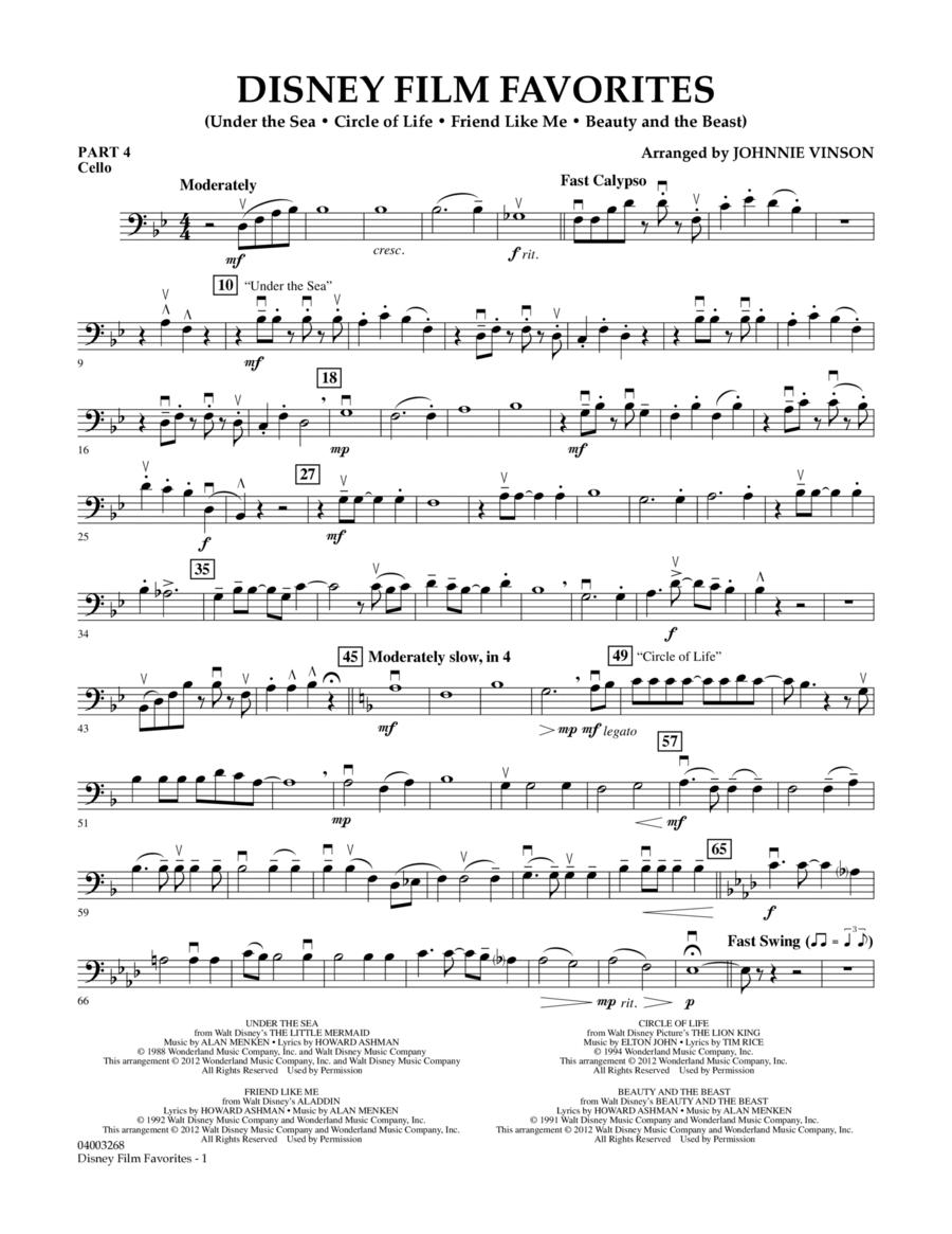 Disney Film Favorites - Pt.4 - Cello
