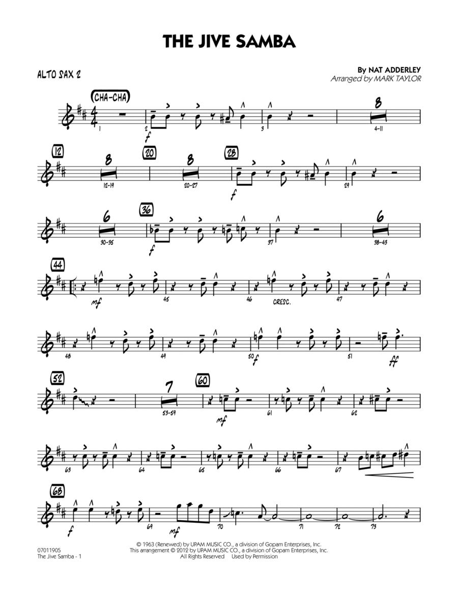 The Jive Samba - Alto Sax 2