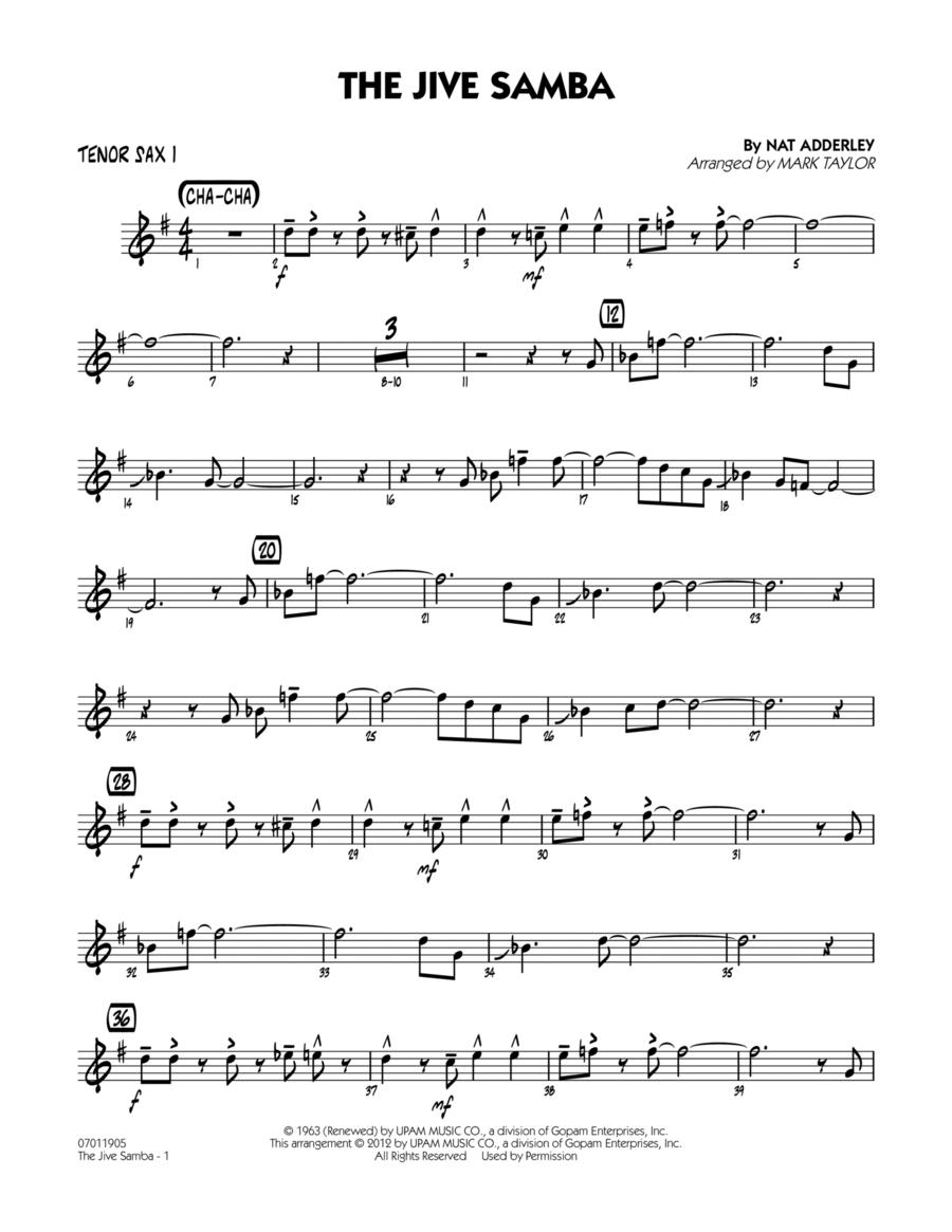 The Jive Samba - Tenor Sax 1
