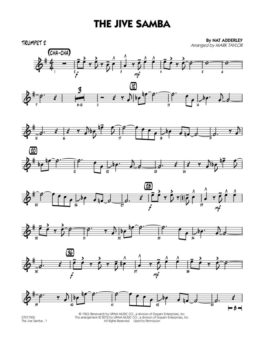 The Jive Samba - Trumpet 2