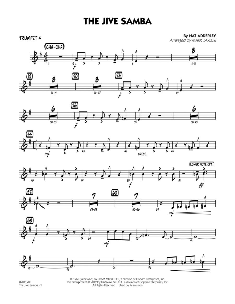 The Jive Samba - Trumpet 4