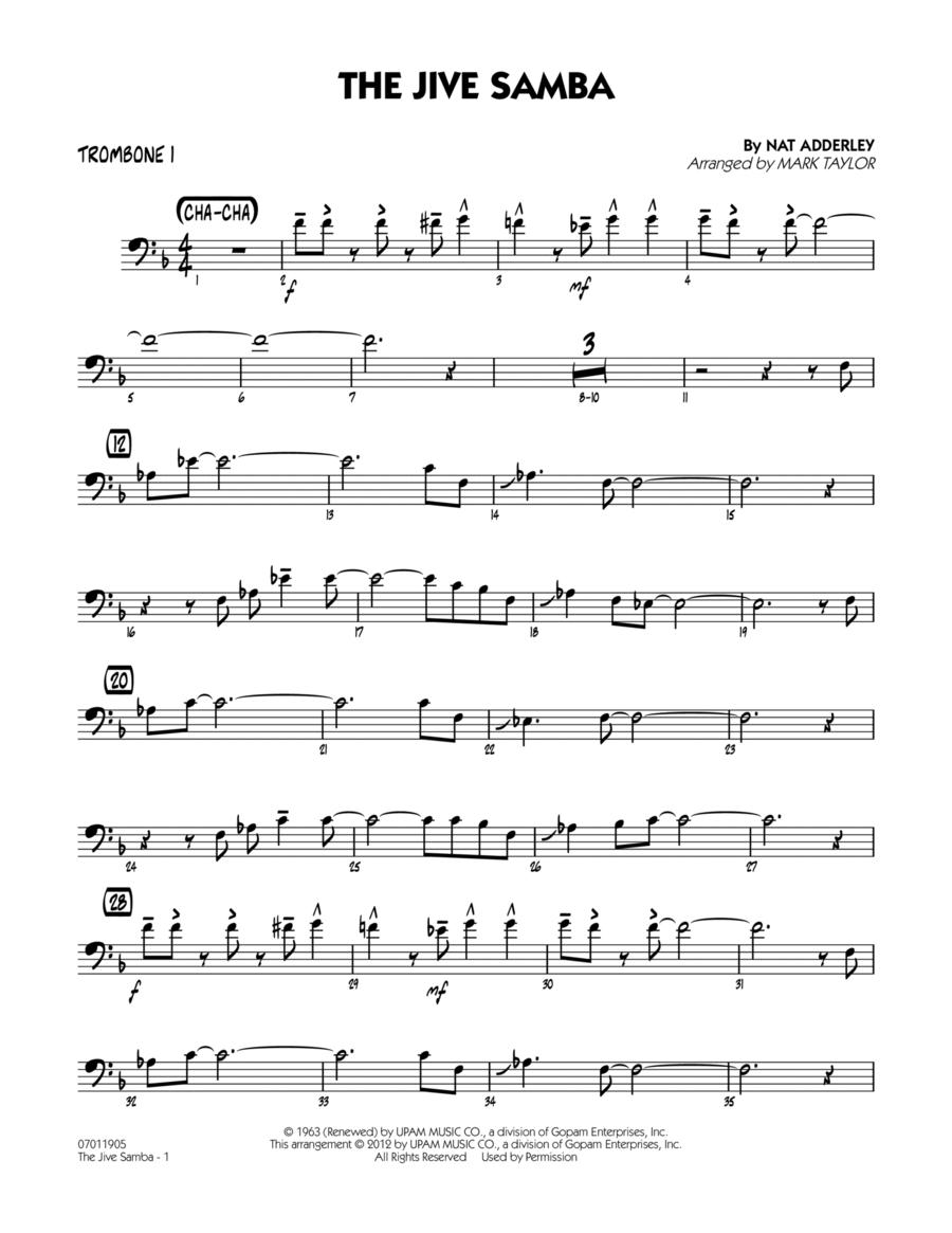 The Jive Samba - Trombone 1