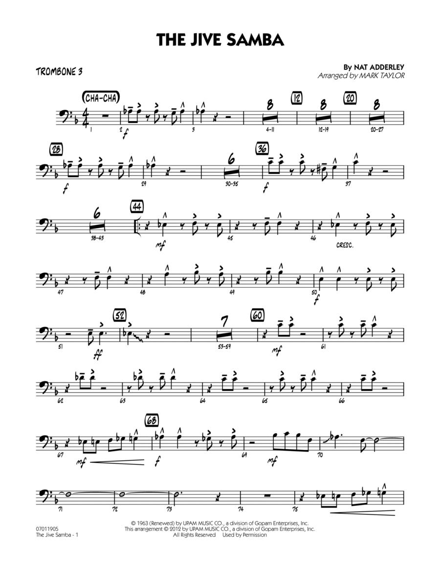 The Jive Samba - Trombone 3