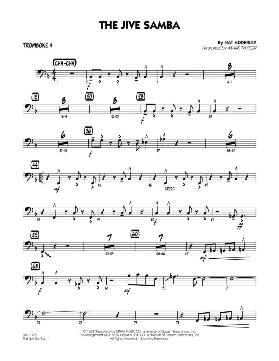 The Jive Samba - Trombone 4