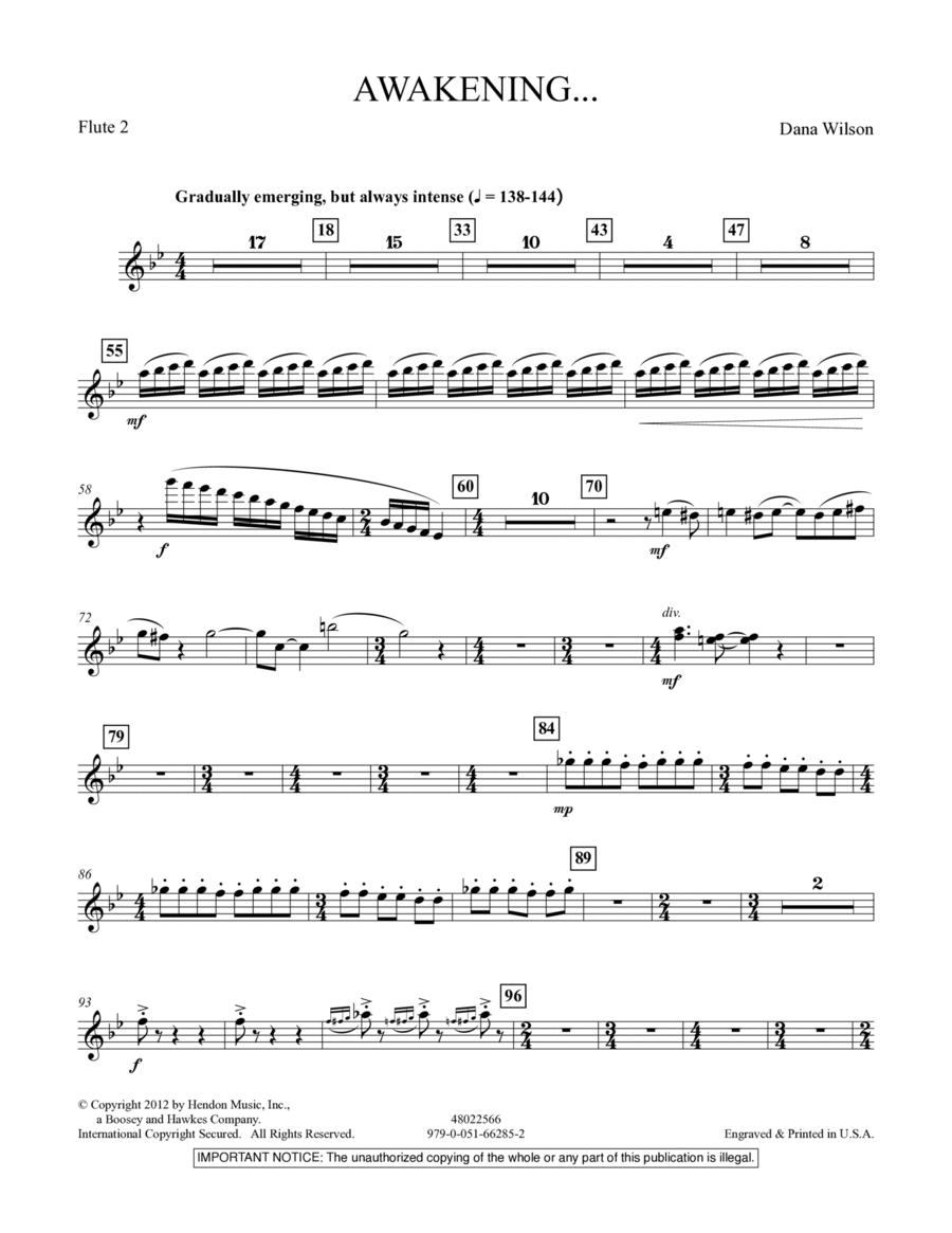 Awakening... - Flute 2