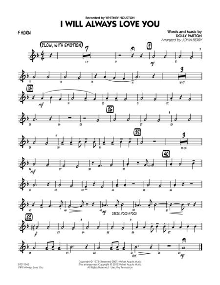 I Will Always Love You - Tuba