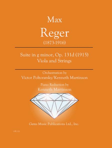 Suite in g minor, Op. 131d (1915) Viola and Strings