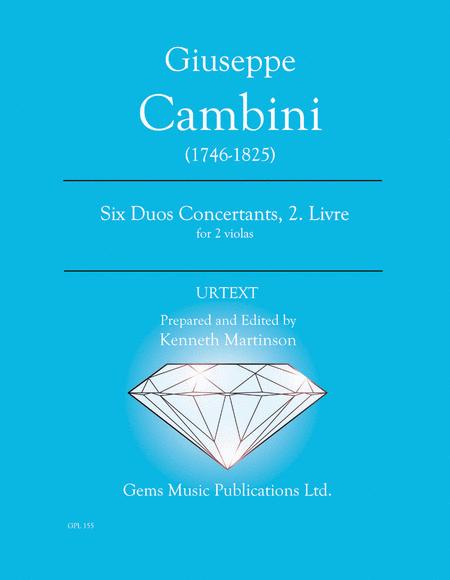 Six Duos Concertants, 2. Livre for 2 violas (#7-12)