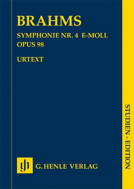 Johannes Brahms - Symphony No. 4 in E minor, Op. 98