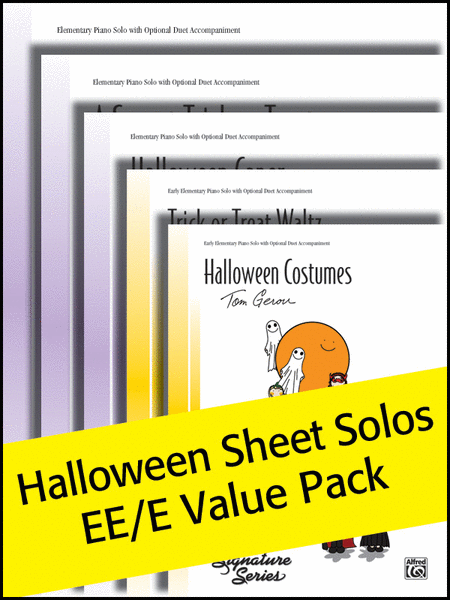 Halloween Sheet Solos EE/E (Value Pack)