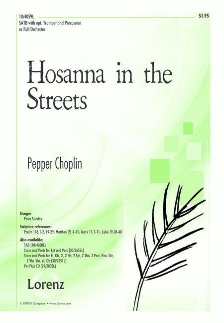 Hosanna in the Streets