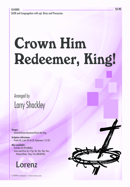 Crown Him Redeemer, King!