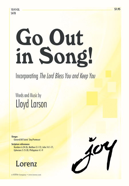 Go Out in Song!