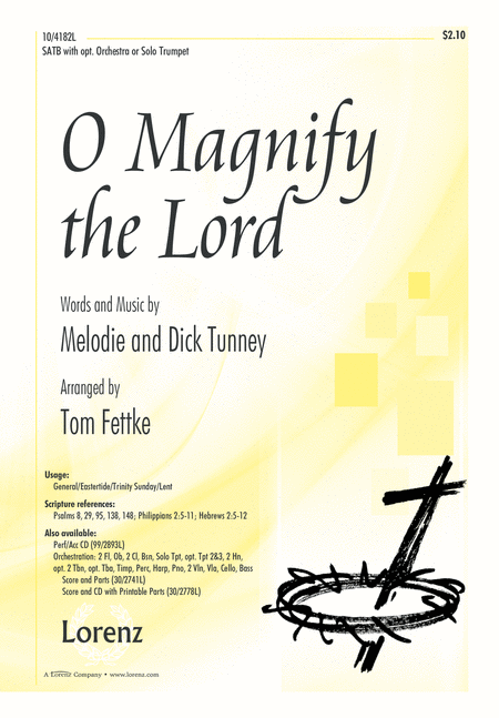 O Magnify the Lord
