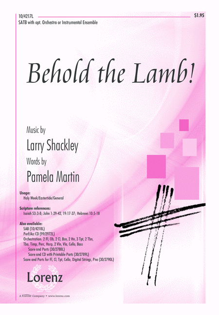 Behold the Lamb!