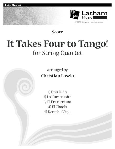 It Takes Four to Tango! for String Quartet - Score