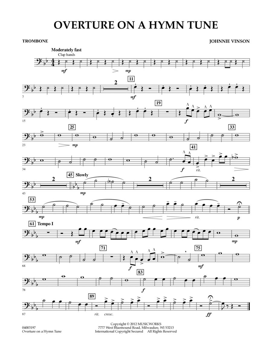 Overture on a Hymn Tune - Trombone