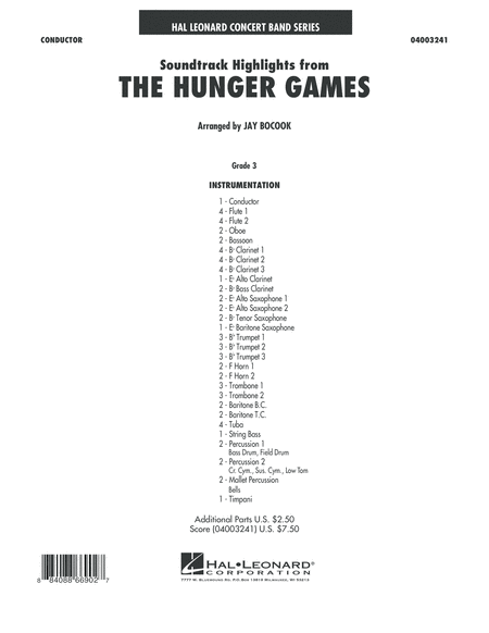 The Hunger Games (Soundtrack Highlights) - Full Score