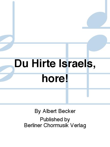 Du Hirte Israels, hore!