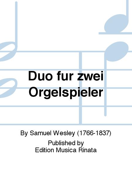 Duo fur zwei Orgelspieler