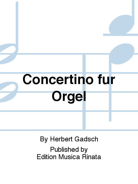 Concertino fur Orgel