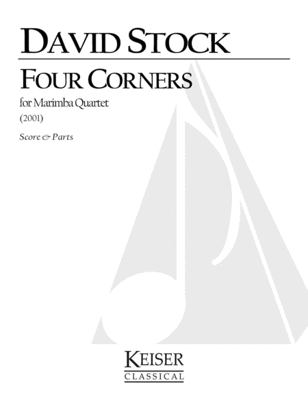 Four Corners for Marimba Quartet