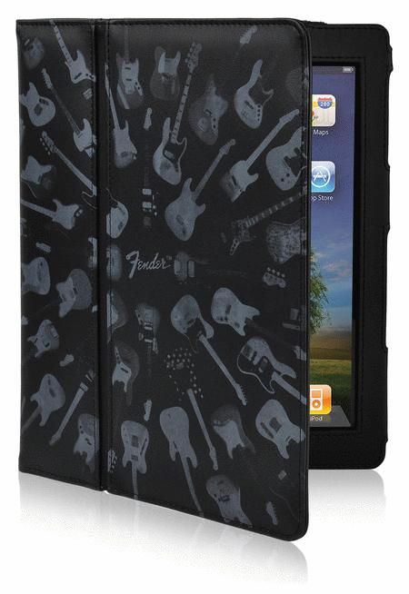 Fender iPad Protective Black Guitar Army Folio